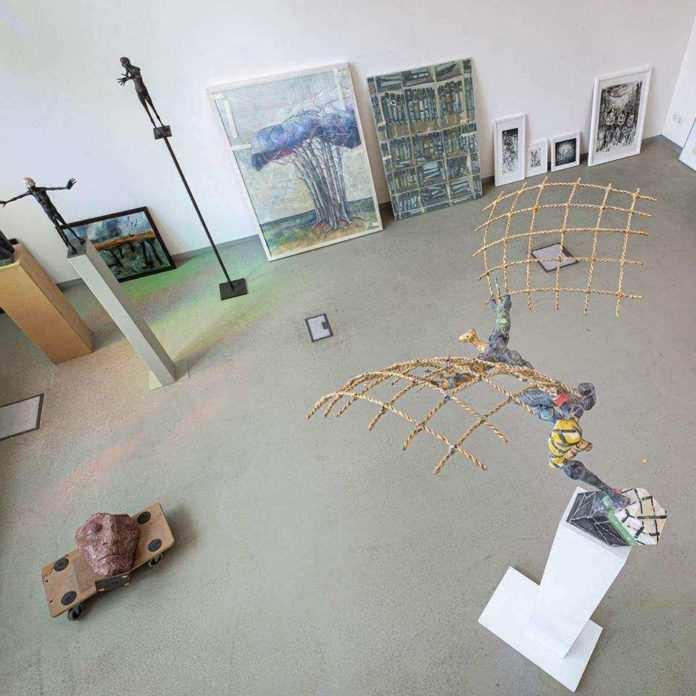 JUBILÄUMSAUSSTELLUNG · 30 Künstler*innen aus 30 Jahren Jenaer Kunstverein am 11.03.· 30 Künstler*innen aus 30 Jahren Jenaer Kunstverein
