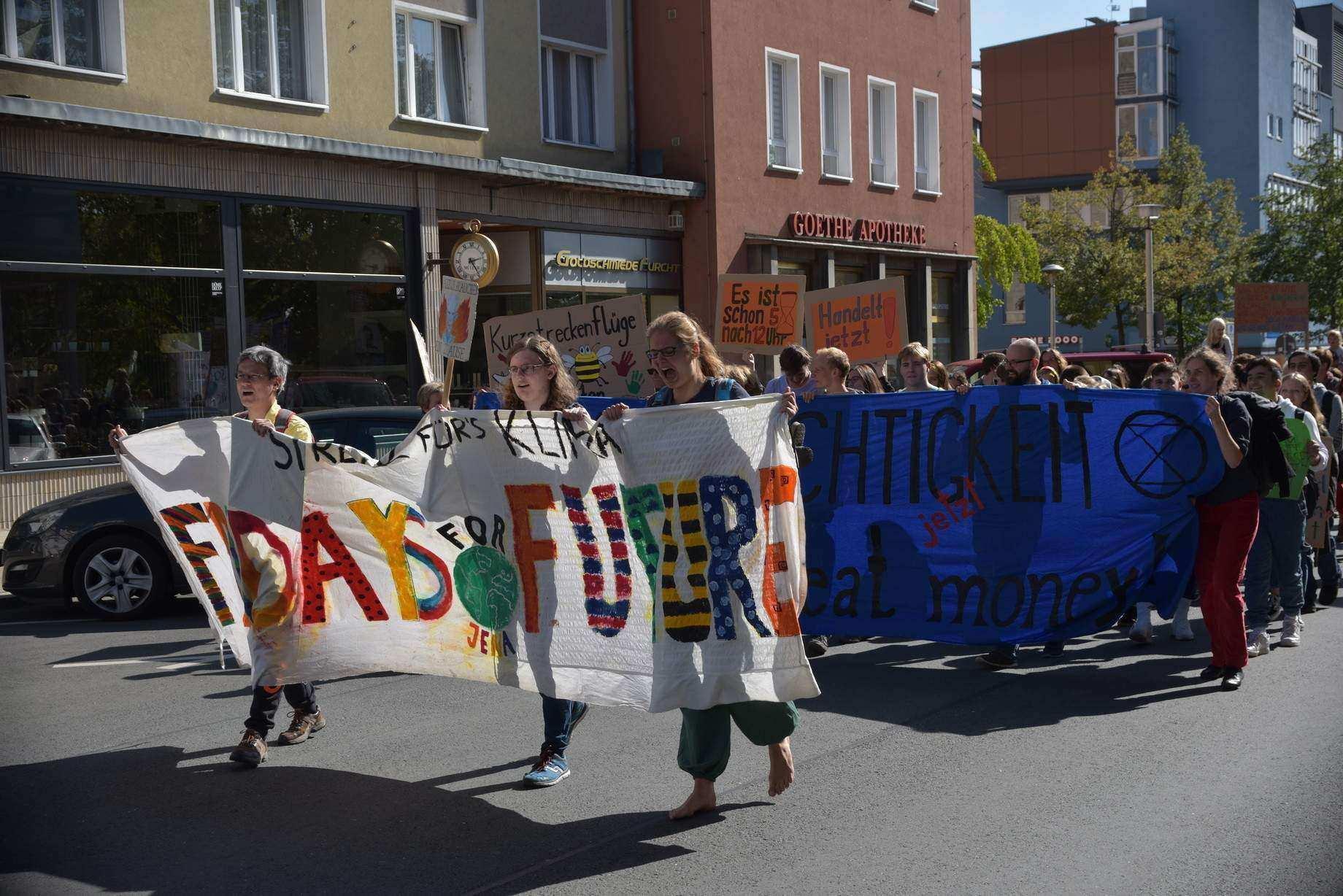 Fridays for Future Jena - 24h - Streik am 27.03.2020 ab 10.00 Uhr