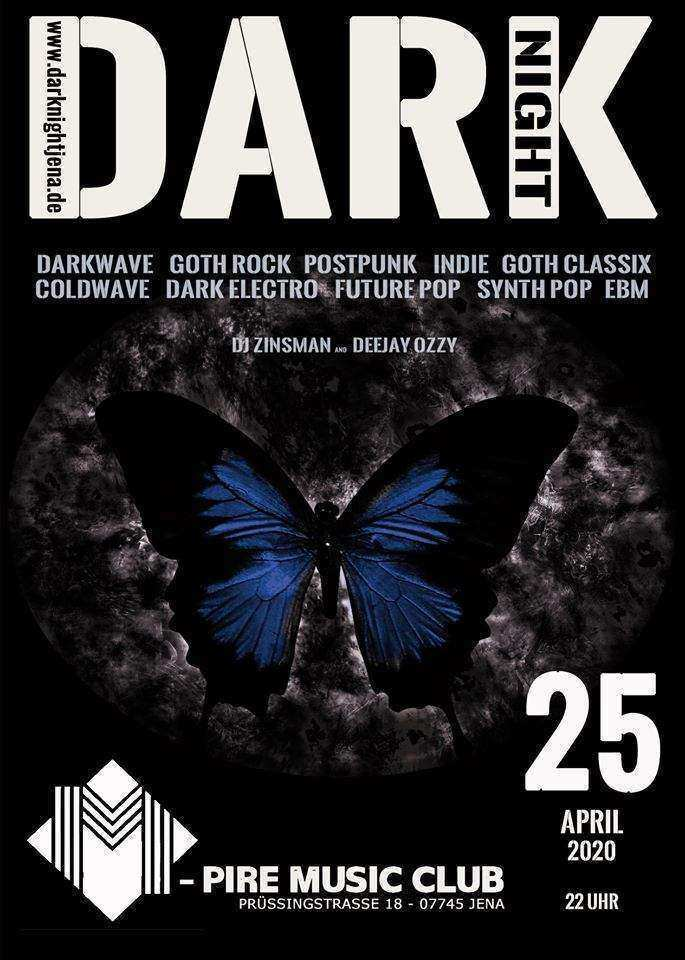 DARK NIGHT im M-Pire Music Club am 25.04.2020