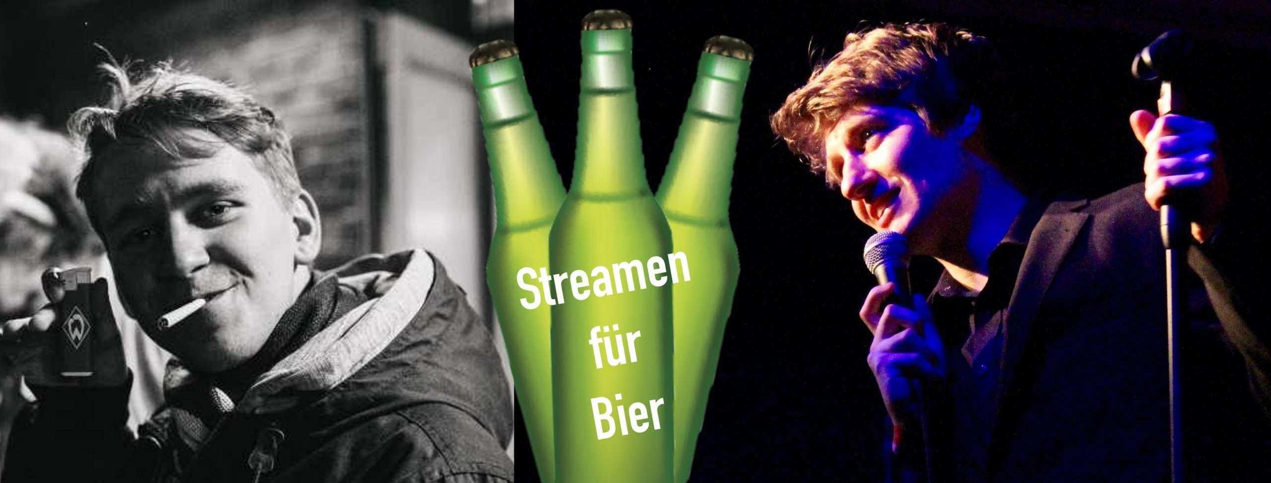 Streamen für Bier