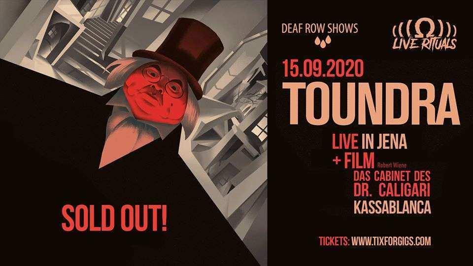 Toundra plays 'Das Cabinet Des Dr. Caligari' 15.09.2020 im Kassa Jena