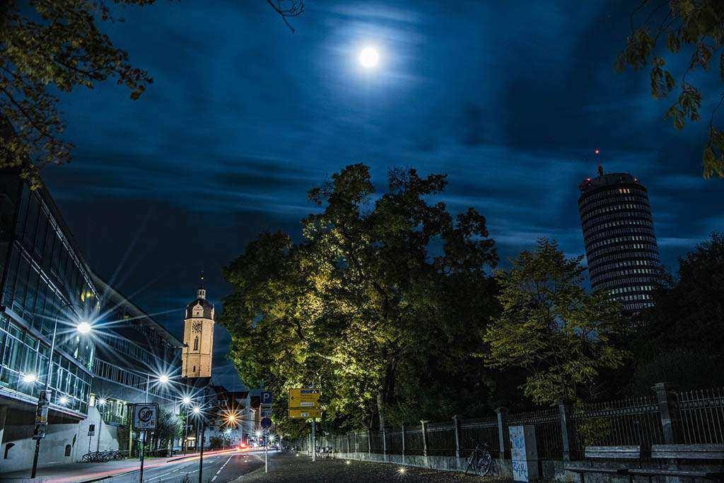 Jena .. die Lage am Abend, Freitag 03.04.2020