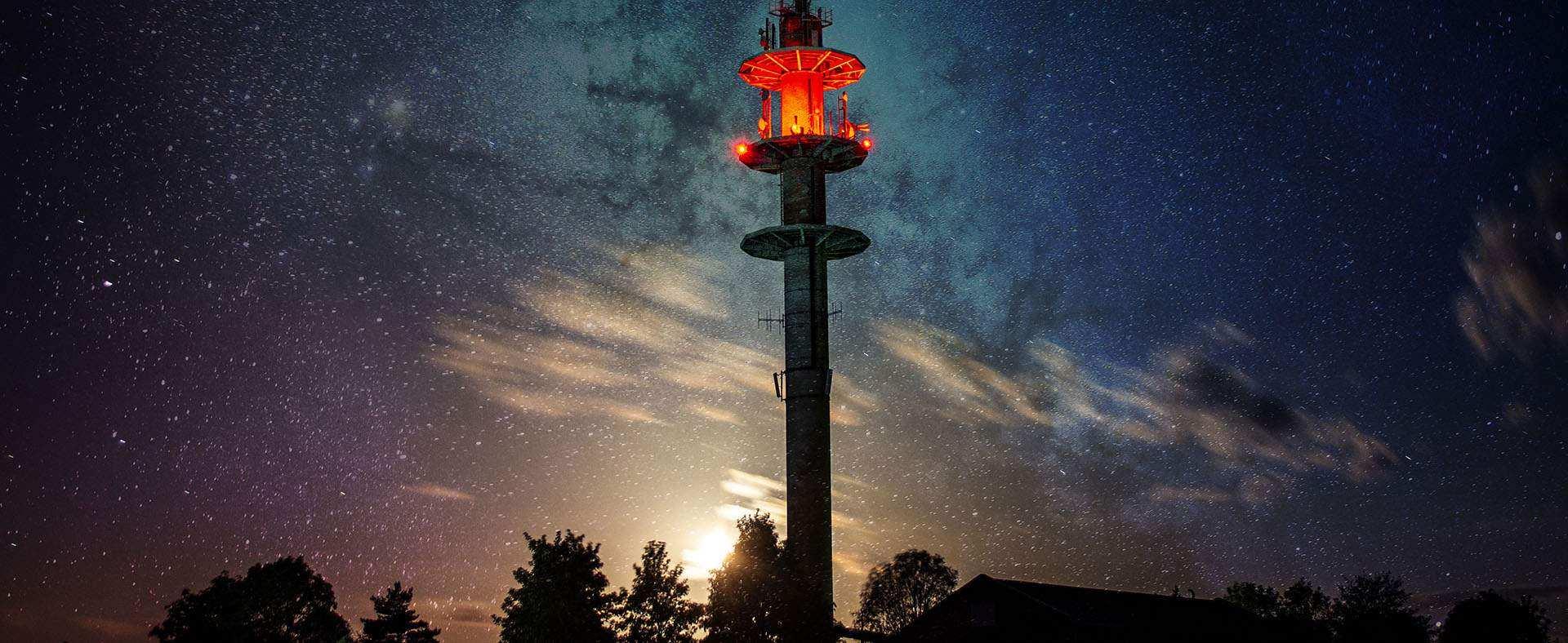 Nacht-Fotowalk, LZB zum Cospoth im Juli, 2020