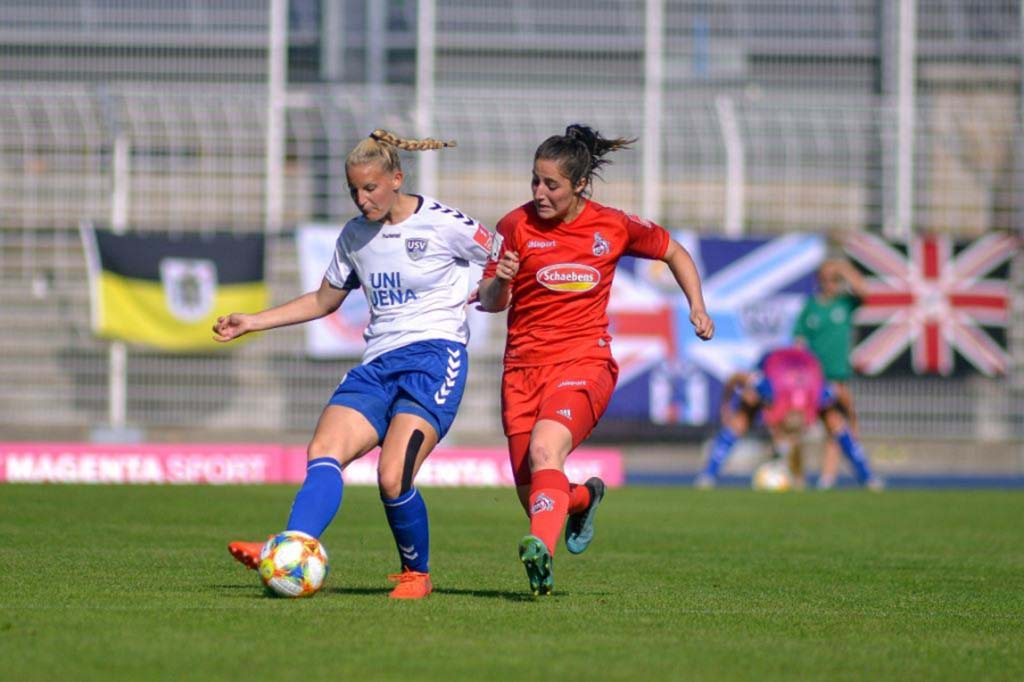 FF USV Jena - Maren Tellenbröker wechselt zum FC Twente Enschede