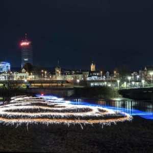 CityLights, Fotowalk Jena LZB & Lightpainting