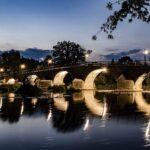 Fotokurs der Künstlerischen Abendschule Jena - Burgau - Altstadt, Binderburg, Wehr und Brücke