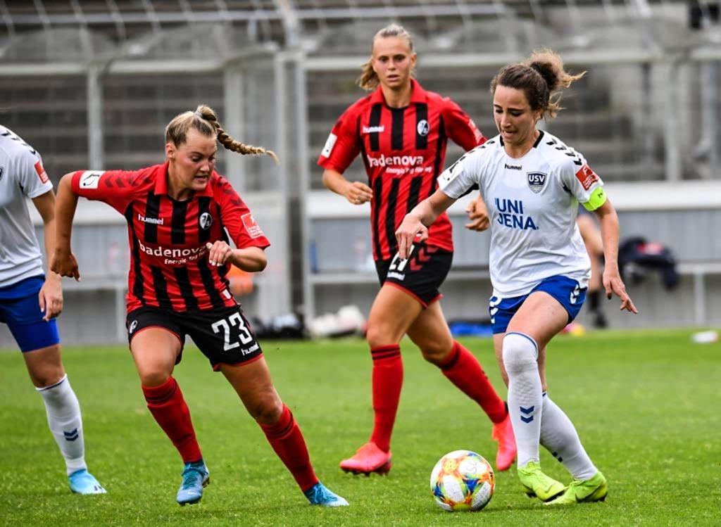 Frauen-Bundesliga: SC Freiburg - FF USV Jena 6:0 (3:0)