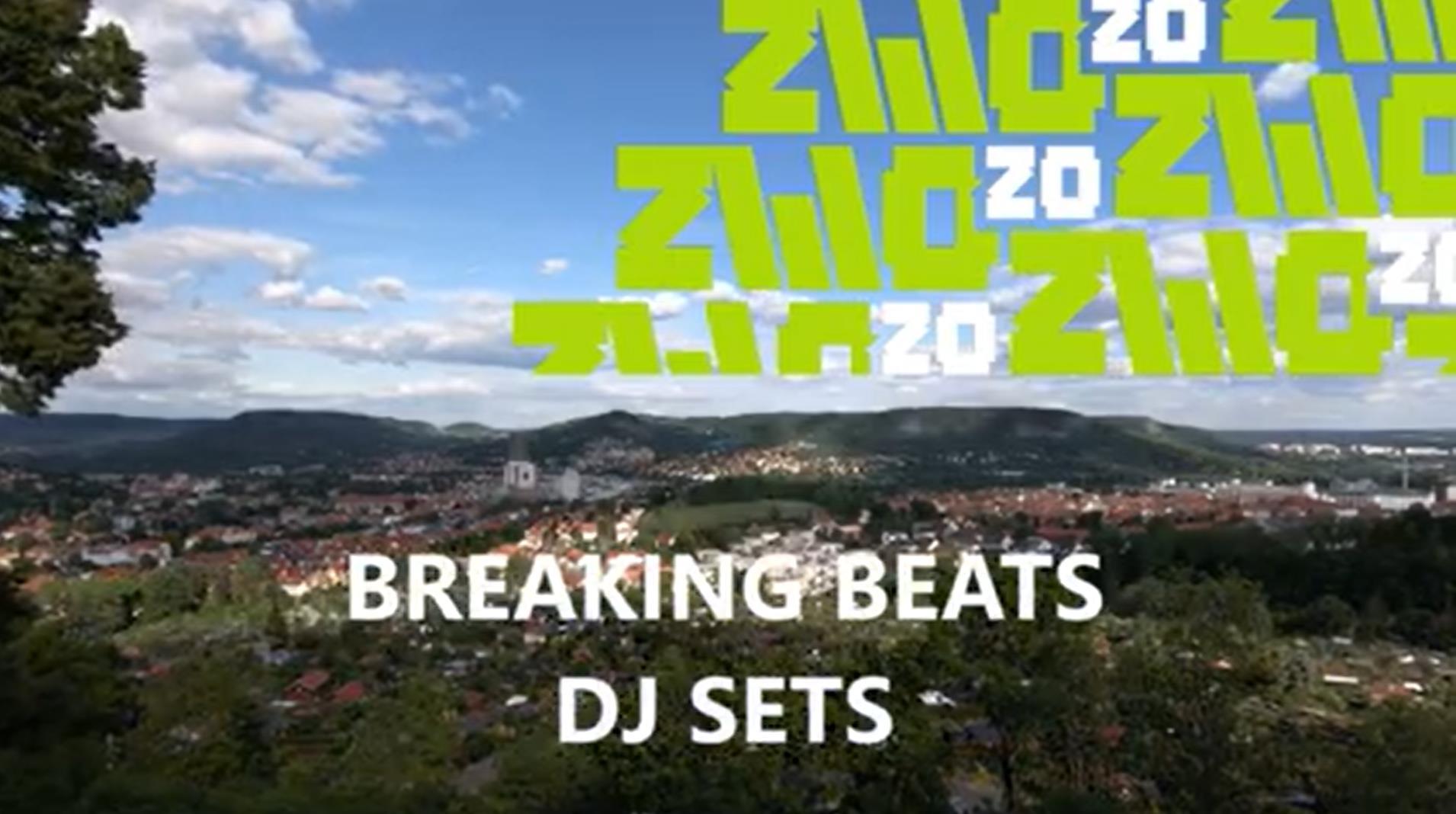 ZWO20 • Breaking Beats • Rooftop DJ Stream // Online Event