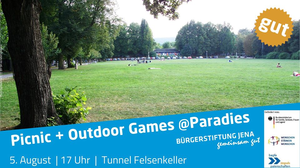 Picnic + Outdoor Games at Paradies Park
