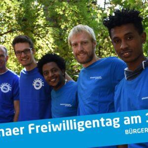 16. Jenaer Freiwilligentag am 12.09.2020