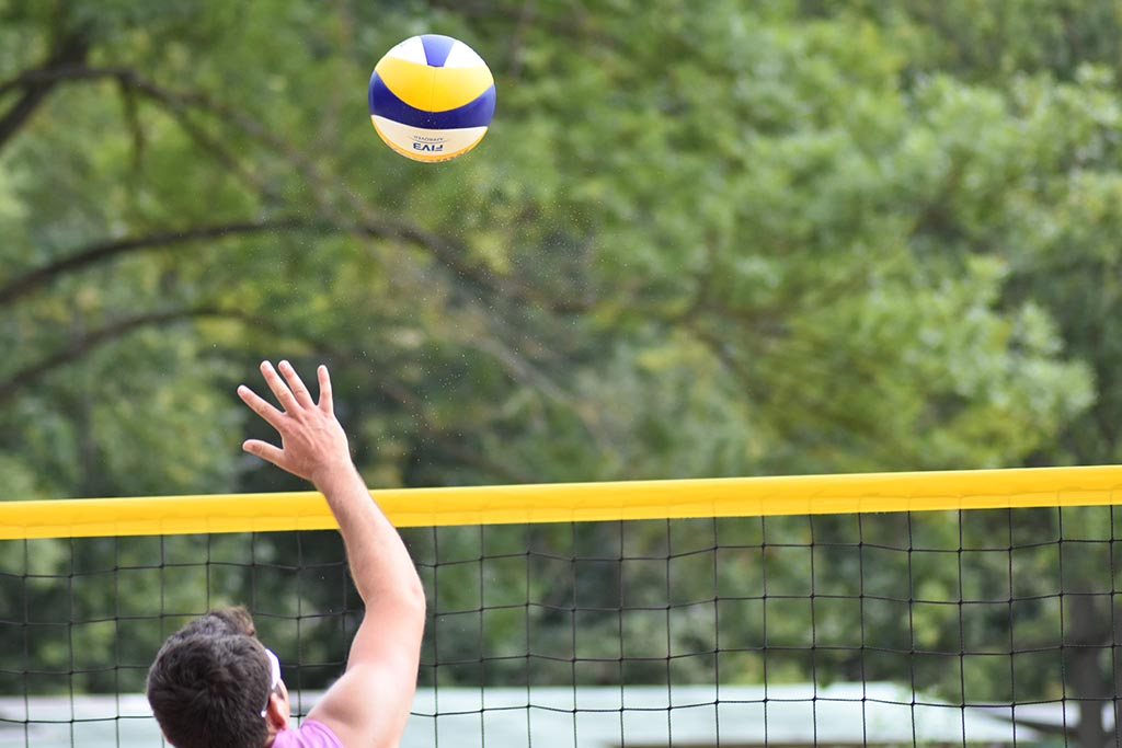 Beachvolleyball in Jena, Projekt Sonne im Paradies