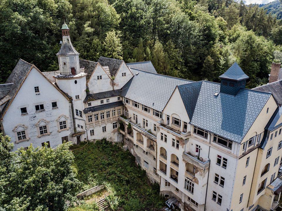 Am vergangenen Wochenende gab es eine Entdeckungstour nach Bad Blankenburg um das dortige Sanatorium Schwarzeck zu erkunden.