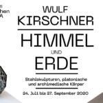 Wulf Kirschner - Himmel und Erde | Stahlskulpturen, archimedische und platonische Körper Skulpturen im Botanischen Garten Jena