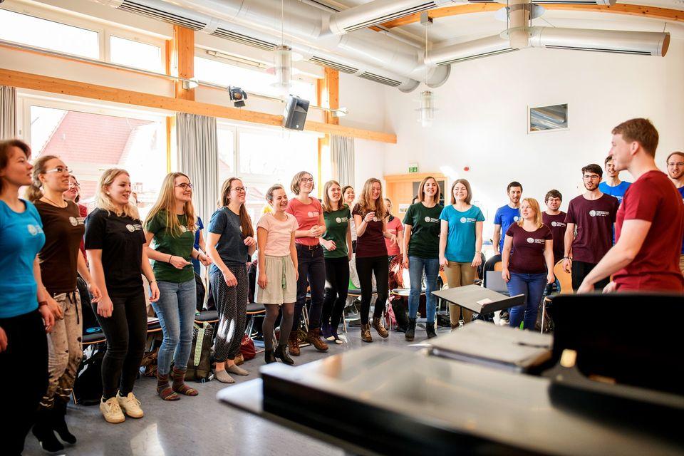 Digitales Livekonzert - Psycho-Chor der Uni Jena