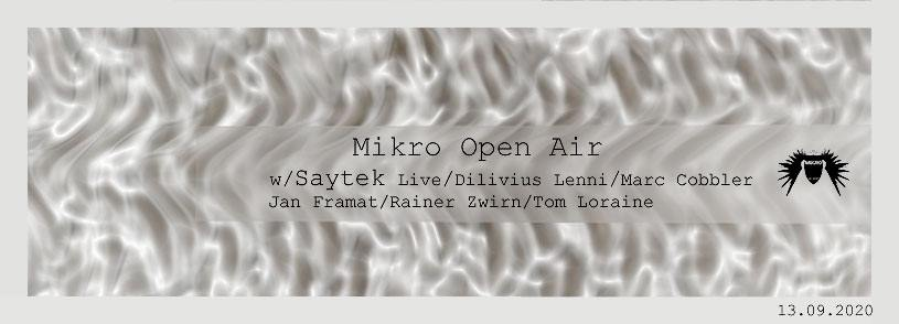 Mikro Open Air am 13.09.2020 Freibad Kahla