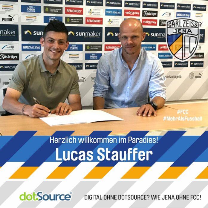 Lucas Stauffer verstärkt den FC Carl Zeiss Jena