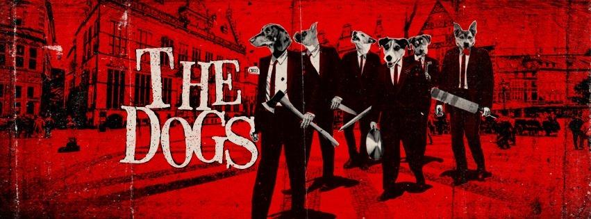 The Dogs (NOR) in Jena // Gfx. FB Eventbanner Rose Jena