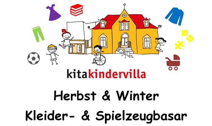 Herbst & Winter Kleider- und Spielzeugbasar Kita Kindervilla