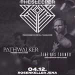 The Sleeper Live in Jena, Support: Tide Has Turned and Pathwalker • Rose