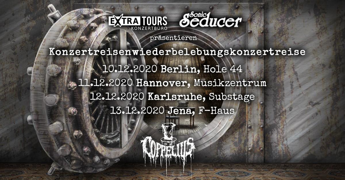 Coppelius im F-Haus Jena am 13.12.2020