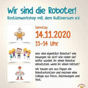 Kinderakademie am 14.11.2020 im Kubus Jena
