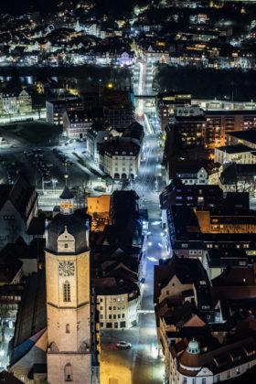 Fotografie in Jena in den Abendstunden