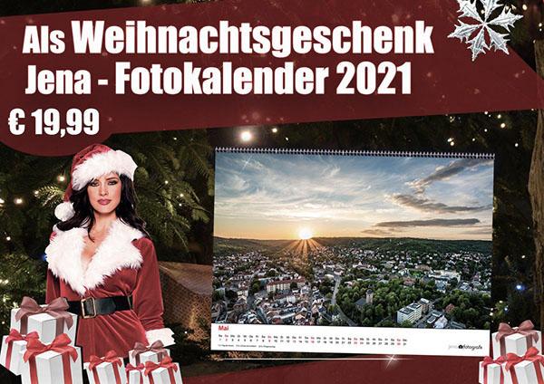 Geschenk-Idee für Weihnachten. Unsere Fotokalender 2021 mit wunderschönen Motiven aus Jena