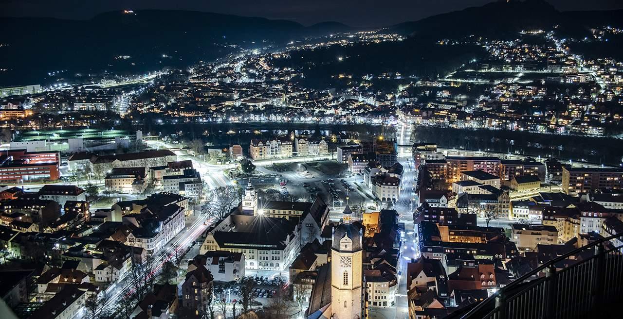 Fotokurs SICHTWEISEN die Stadt vom Johannisturm gesehen