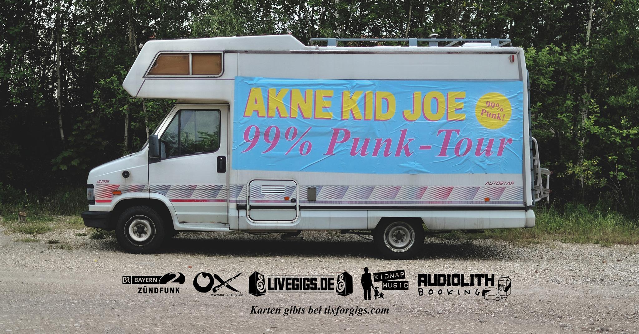 Akne Kid Joe / 99% Punk Tour / Jena / Kassablanca