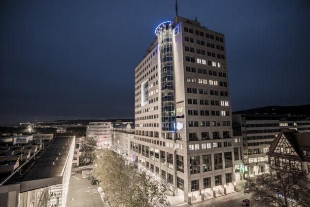 Jena, vorweihnachtlich betrachtet im Dezember 2020