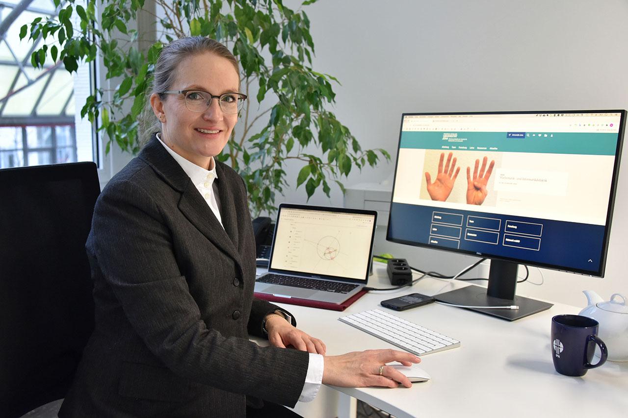 Anke Lindmeier ist neue Professorin für Mathematikdidaktik an der Friedrich-Schiller-Universität Jena