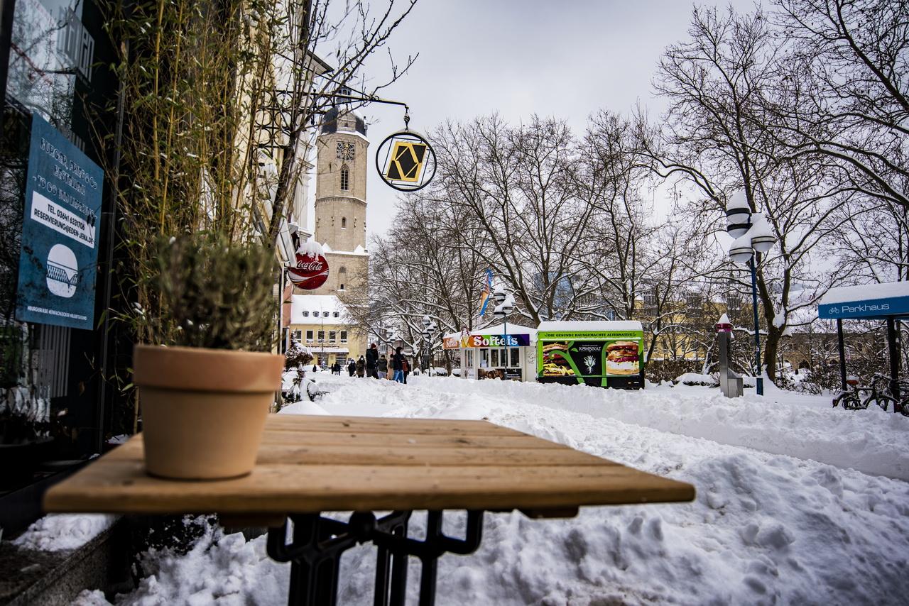 Schnee extrem in Jena