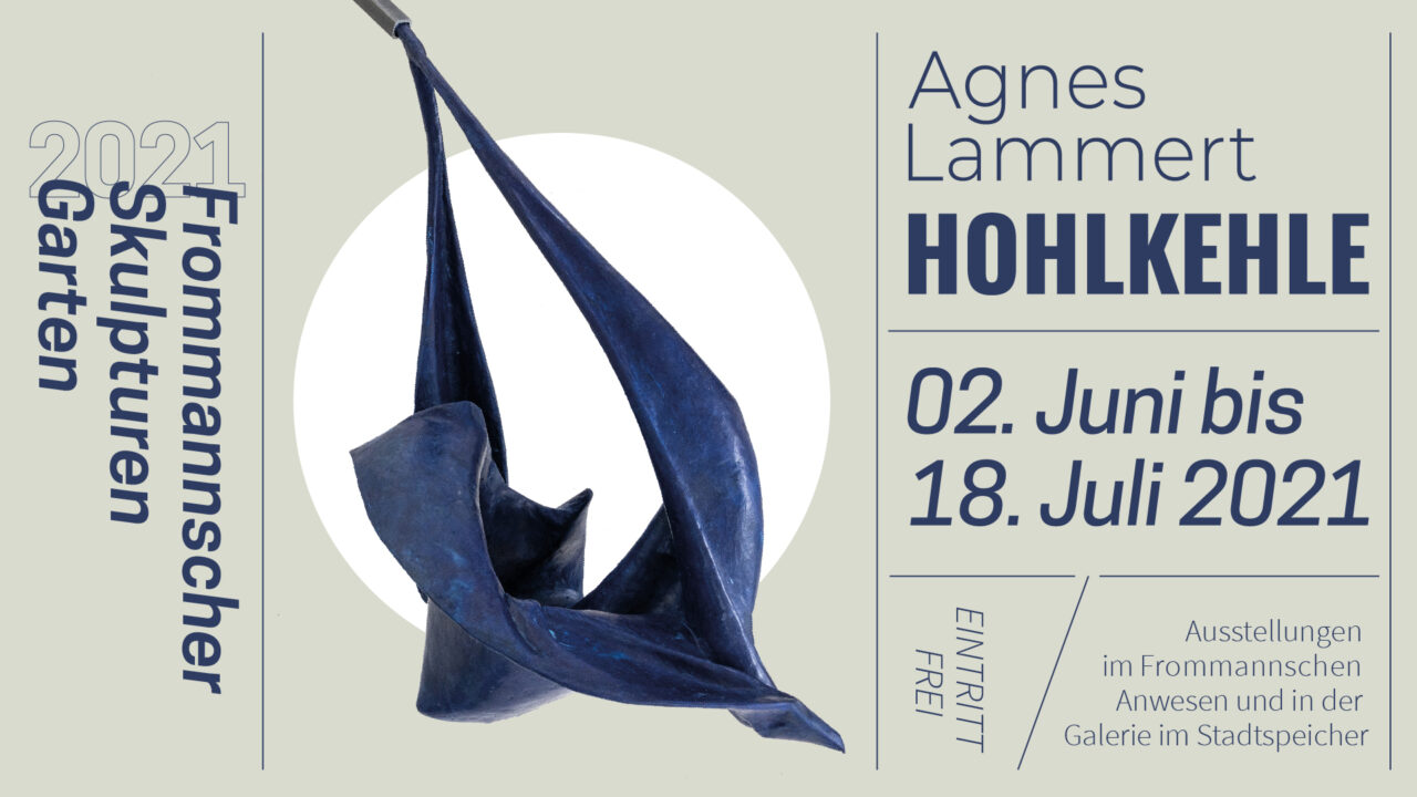 FrommannscherSkulpturenGarten 2021: Agnes Lammert – Hohlkehle