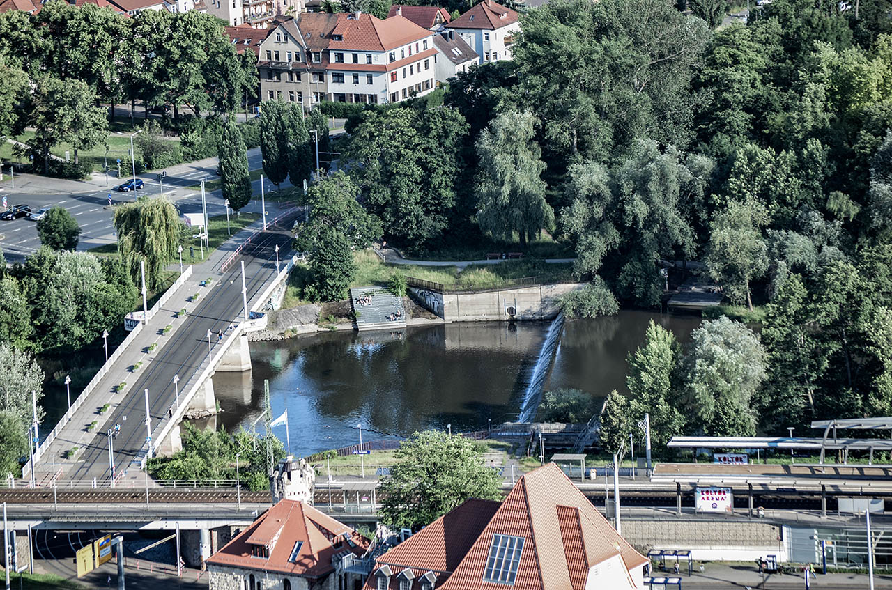 Blick auf Jena, Fotografik, Jenafotografx.de