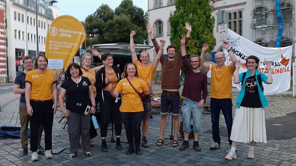Klimaentscheid Jena - Das Team, Foto: Klimaentscheid Jena