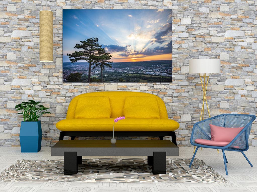 Fotoleinwand Sunset Jenzig - online bestellen auf JenaStyle.de