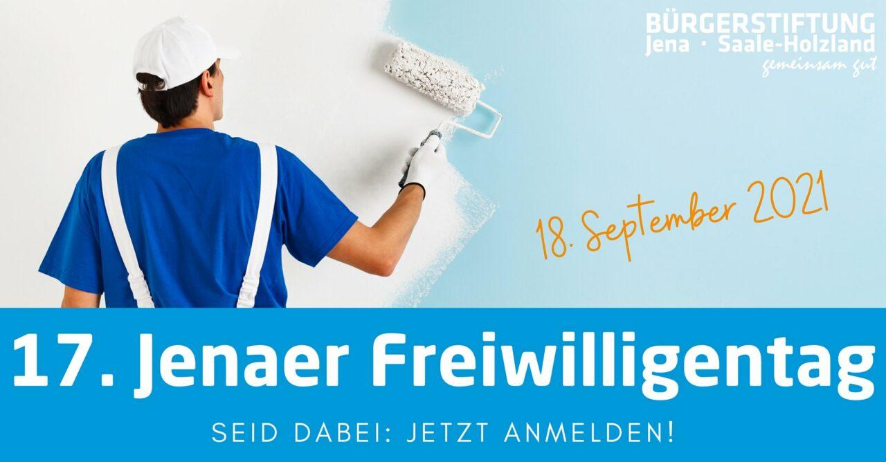 17. Jenaer Freiwilligentag, FB Eventbanner Bürgerstiftung Jena Saale-Holzland