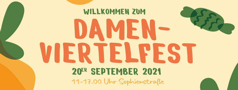 Damenviertelfest 2021,  Gfx. Damenviertelfest Jena