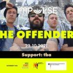 Impulse mit THE OFFENDERS, Gfx. Fb Eventbanner Café Wagner Jena