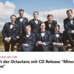 """Jahreskonzert der Octavians mit CD Release """"Minuten aus Jahrhunderten"""" Foto: Screen FB Eventbanner Octavians"""